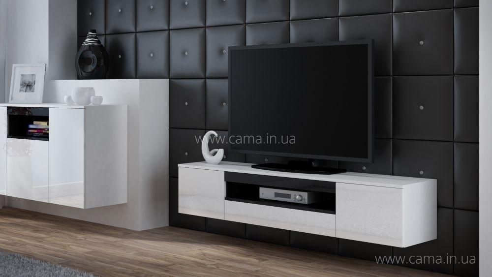 Комод RTV Viva белый/белый/черный