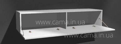Комод RTV Vigo 180 серый/белый глянец