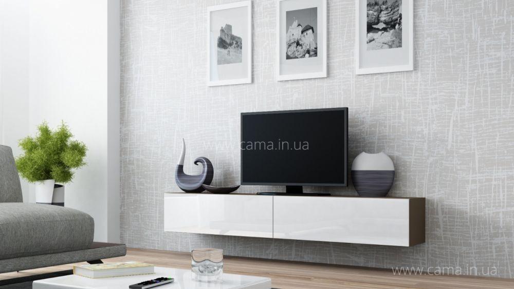 Комод RTV Vigo 140 латте/белый глянец